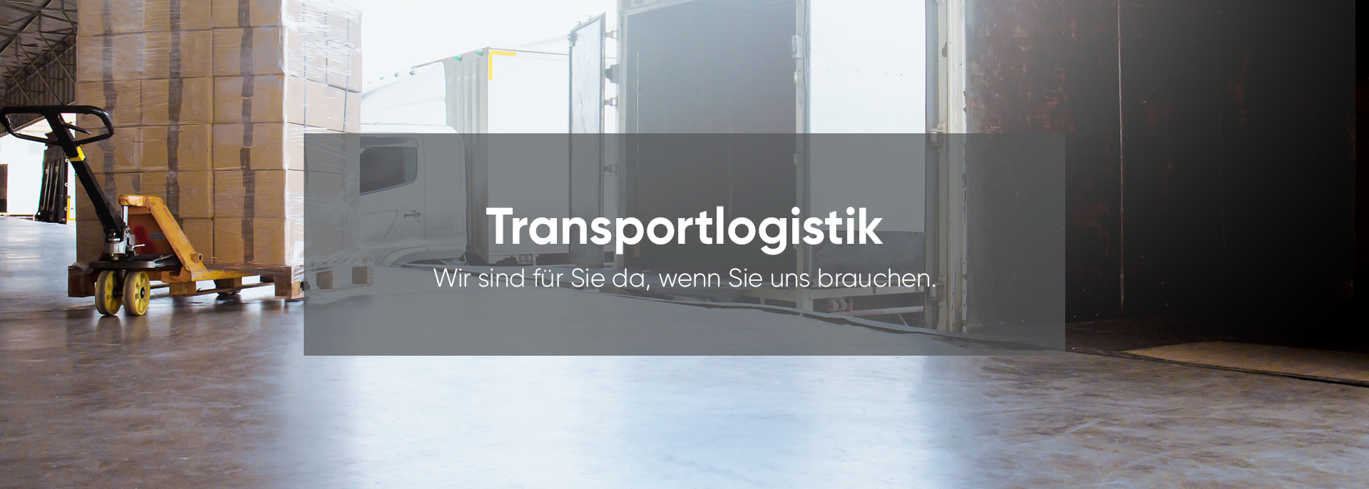 Transportlogistik by Deventer